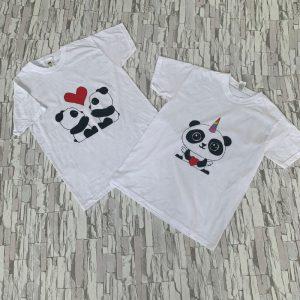 Футболка панды